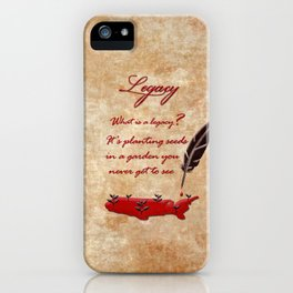 Hamilton Legacy iPhone Case