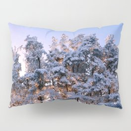Winter Panorama Pillow Sham