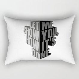 how it's done Rectangular Pillow