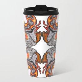 Flower lover Metal Travel Mug