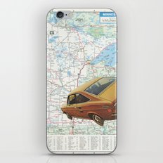 Middle west iPhone Skin