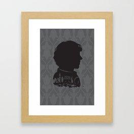 Sherlock - 221b Framed Art Print