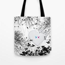 Love in air Tote Bag