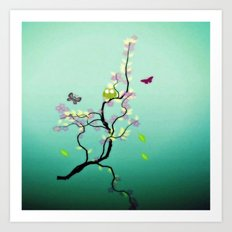 Chaotic Tree ( series ) Art Print