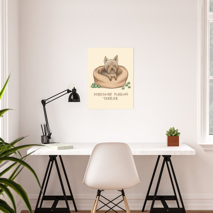 Yorkshire Pudding Terrier Poster
