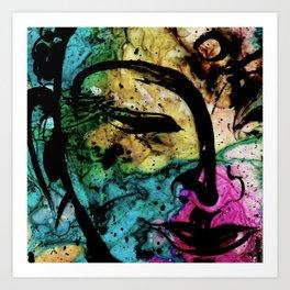 Buddha Love No.23 by Kathy Morton Stanion Art Print
