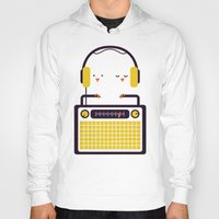 radio Hoodies featuring Radio Mode Love by Picomodi