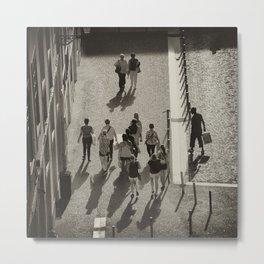 Lisbonne vue d'en haut Metal Print