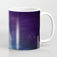 universe Mugs featuring Universe by Space99