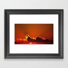 Early Rays Framed Art Print