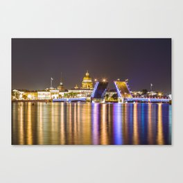 Open Bridge Canvas Print