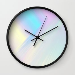 Cosmic Light Reflection Wall Clock