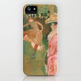 The Dance - Henri de Toulouse-Lautrec (1890) iPhone Case