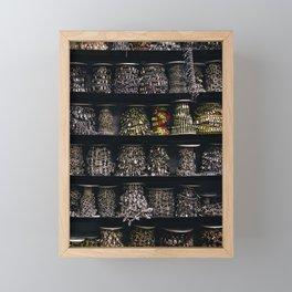 All The Jewels Framed Mini Art Print