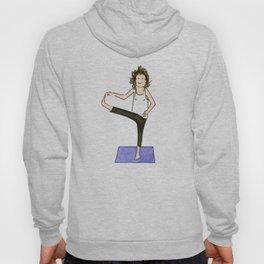 Yoga Folks. Balancing Pose.   Hoody