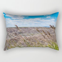 Bad Lands 3 Rectangular Pillow