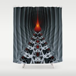 Fractal Art by Sven Fauth - Path to hell Shower Curtain