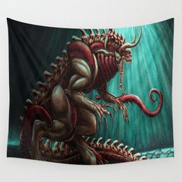 Cave Screamer Wall Tapestry