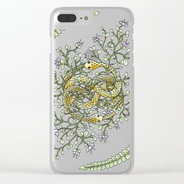 Neverending Story Inspired Auryn Garden Clear iPhone Case