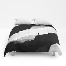 White Isolation Comforters