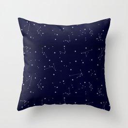 Astres / Stars / Luminary / Night Sky / Stars starry sky Throw Pillow