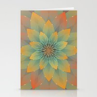 lotus Stationery Cards featuring Lotus by HK Chik