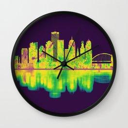 Rochester New York Skyline Wall Clock