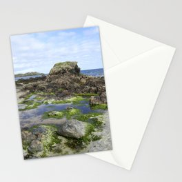 Beach on Iona Stationery Cards
