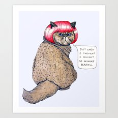 Cat Style Art Print