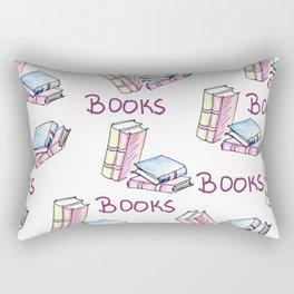 Books Music Movies Rectangular Pillow