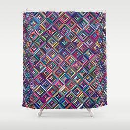 Optica Shower Curtain