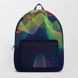 Equalizer Sound Waves Backpack