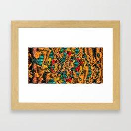 Plastic Wax Factory Vol 02 47 - OATHS OF DAGON Framed Art Print