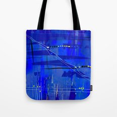 Blue mix Tote Bag