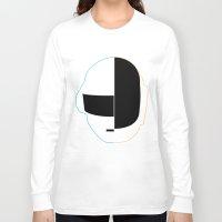 daft punk Long Sleeve T-shirts featuring Daft Punk by Alli Vanes