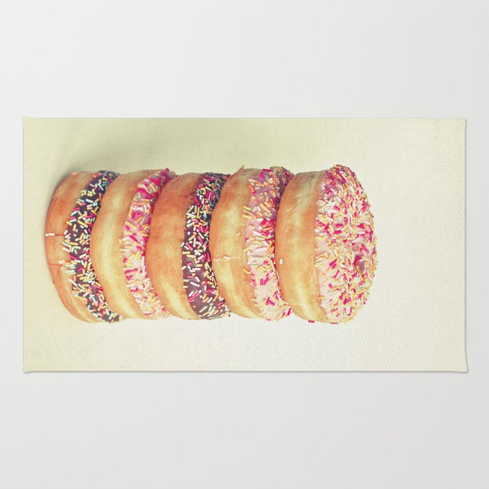 Stack of Donuts Rug