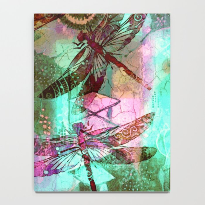 Dragonflies in a Dream Notebook