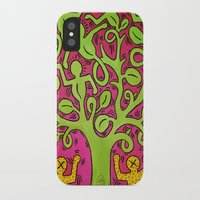 keith haring iPhone & iPod Cases featuring Copy of Tree of Life - Keith Haring by Jade Artworks