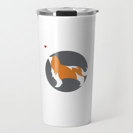 Blenheim Cavalier King Charles Love Travel Mug