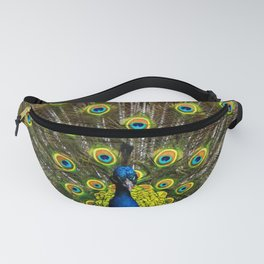 Colorful peacock Fanny Pack