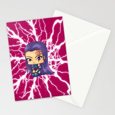 Chibi Psylocke Stationery Cards