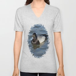 Lesser Scaup Unisex V-Neck