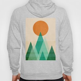 No mountains high enough Hoody
