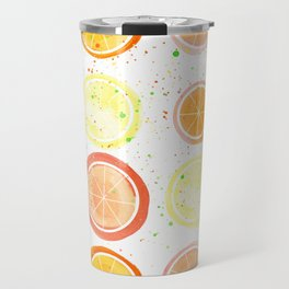 Citrus Fruit Travel Mug