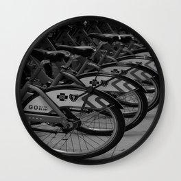 Rent A City Ride Wall Clock