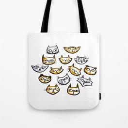 Cat Clowder Tote Bag