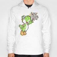 yoshi Hoodies featuring Yoshi Wonderland !  by Art & Be