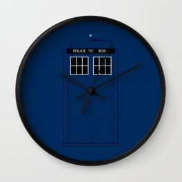 Doctor Who - The Doctor is in.....  Wall Clock