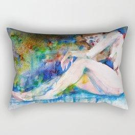 NUDE OF WOMAN - MARCH 3,2017 Rectangular Pillow