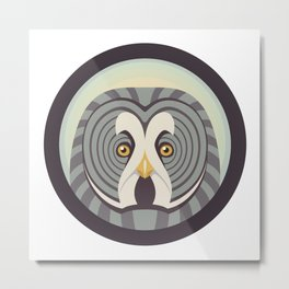Great Gray Owl Metal Print